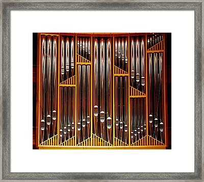Organ Opus 76 - Philadelphia Framed Print by Rona Black