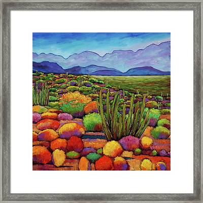 Organ Pipe Framed Print by Johnathan Harris