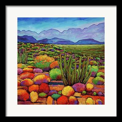 Autumn Landscapes Framed Prints