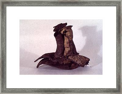 Organic Ceramic 1977 Framed Print by Ron Hayes