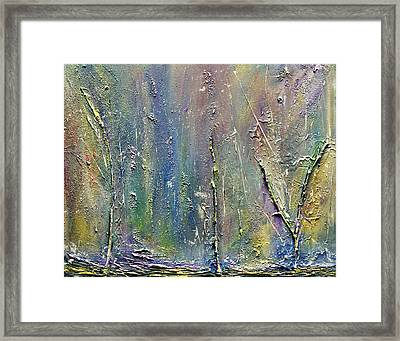 Organic Fantasy Forest Framed Print by Dolores  Deal