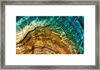 Organic Flow Framed Print