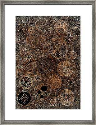 Organic Forms Framed Print by Frank Tschakert