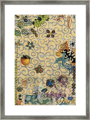 Organic Framed Print by Gloria Von Sperling