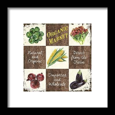 Vegetable Patch Framed Prints
