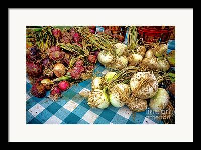 Local Food Framed Prints
