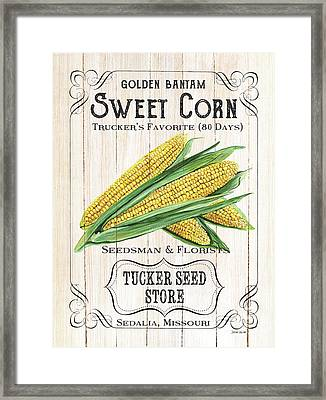 Organic Seed Packet 4 Framed Print