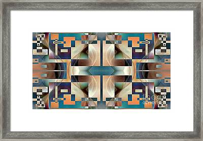 Organic Symetry Framed Print by Jack Dillhunt