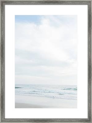 Organic Waves Crashing 2 Framed Print by Ariane Moshayedi