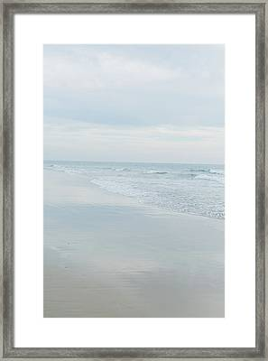 Organic Waves Crashing 3 Framed Print by Ariane Moshayedi