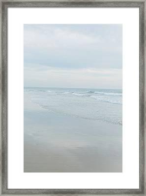 Organic Waves Crashing 4 Framed Print by Ariane Moshayedi