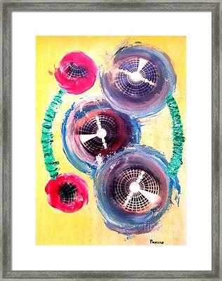 Organismic Volition Framed Print