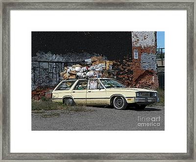 Organized Chaos - Digital Art Framed Print