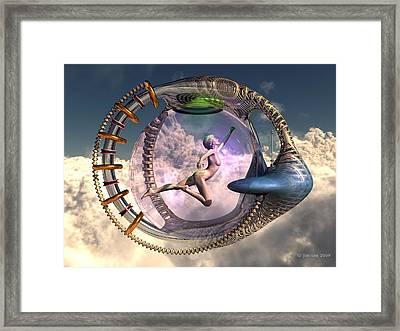 Orgasmatron Framed Print by Jim Coe