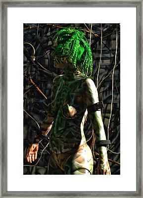 Orgo Energy Shared Framed Print by Leigh Odom