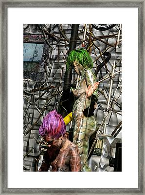 Orgomechanic Deirdreellanor Framed Print by Leigh Odom