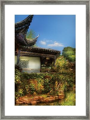 Orient - A Place To Pray  Framed Print by Mike Savad