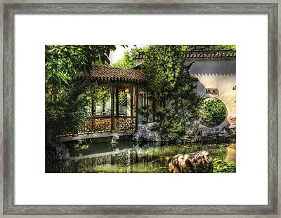 Orient - Bridge - The Bridge Framed Print