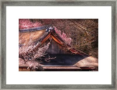 Orient - Shofuso House Framed Print by Mike Savad