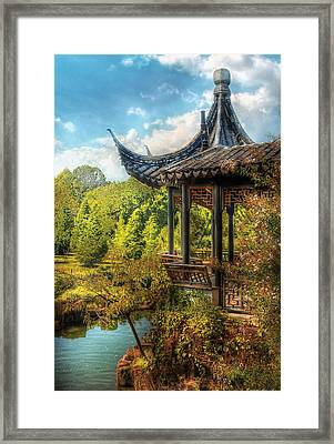 Orient - From A Chinese Fairytale Framed Print by Mike Savad