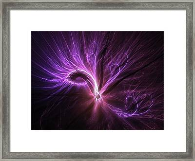 Orient Spice - Digital Abstract Artwork Framed Print by Michal Dunaj