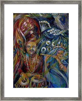 Oriental Fairy Tale.part Two Framed Print by Anna  Duyunova