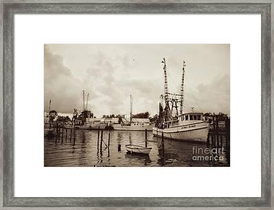 Oriental Harbor Framed Print