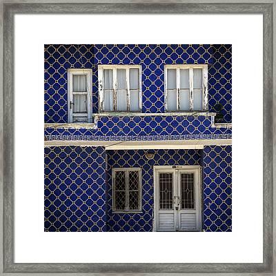 Oriental House Framed Print