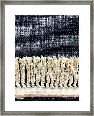 Oriental Rug Detail Framed Print
