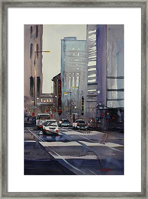 Oriental Theater - Chicago Framed Print by Ryan Radke
