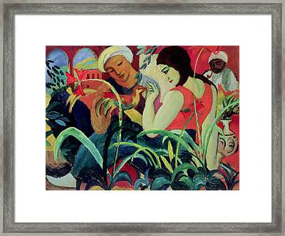 Oriental Women Framed Print