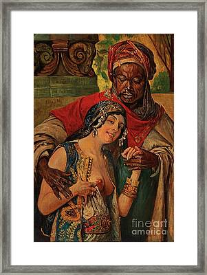 Orientalisches Paar  Framed Print by Pg Reproductions