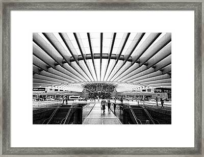 Oriente Station Framed Print