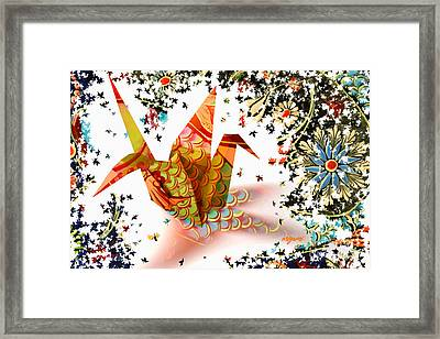 Origami 2017 Framed Print