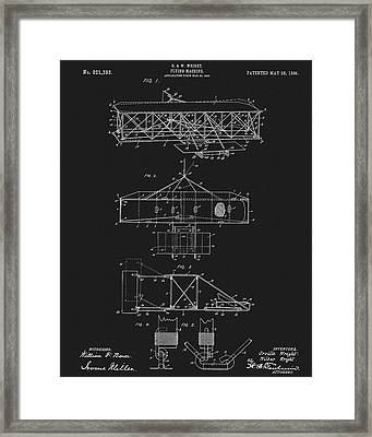 Original 1906 Wright Brothers Full Patent Framed Print by Dan Sproul