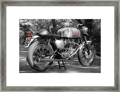 Original Cafe Racer Framed Print by Mark Rogan