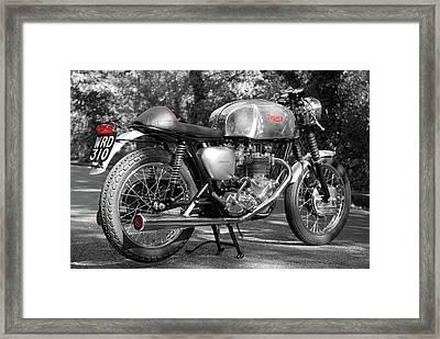 Original Cafe Racer Framed Print by Mark Rogan