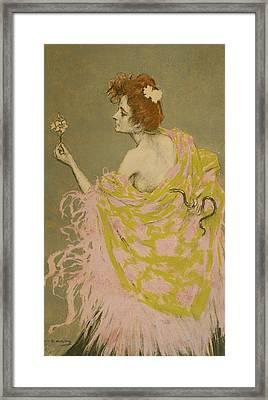 Original Design For The Poster Sifilis Framed Print