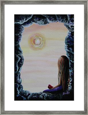 Original Fantasy Artwork Framed Print