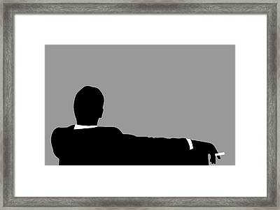 Original Mad Men Framed Print