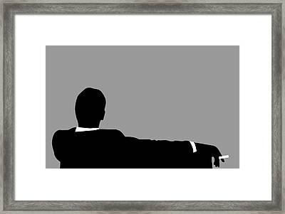 Original Mad Men Framed Print by Dan Sproul