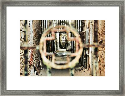 Hospital Wing Views Framed Print by JAMART Photography