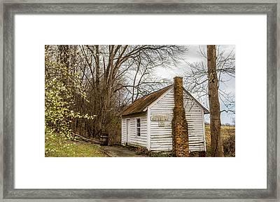 Original Snow Camp Post Office Framed Print