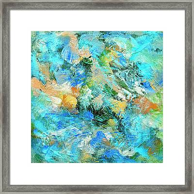 Framed Print featuring the painting Orinoco by Dominic Piperata