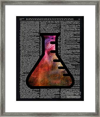 Orion Alchemy Vial Framed Print