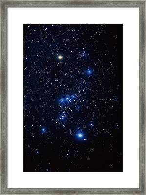 Orion Constellation Framed Print by John Sanford
