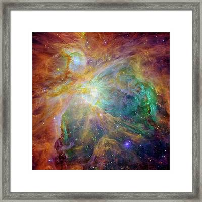 Orion Nebula Framed Print by Mark Kiver
