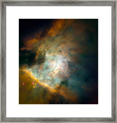 Orion Nebula Mosaic  Framed Print by Jennifer Rondinelli Reilly - Fine Art Photography