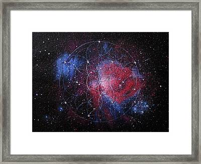 Orion Nebula Framed Print by Murielle Sunier