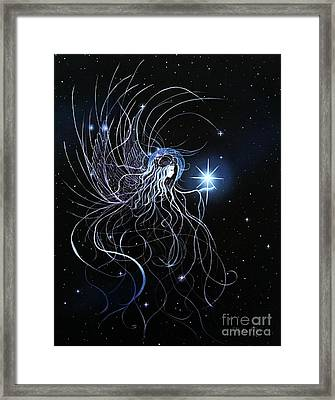 Orions Angel Framed Print by Pauline Ross